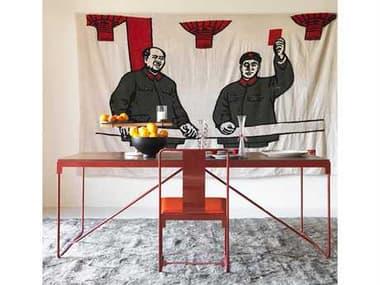 Driade Outdoor Mingx Steel Dining Set DRIMNGXBYKNSTNTNGRCDINSET2
