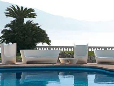 Driade Plie Grand Plie Piaffe Polyenthlene Monobloc Lounge Set DRIPLIEGRNDPFFEBYLRLNGSET