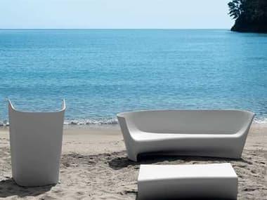Driade Plie Grand Plie Piaffe Polyenthlene Monobloc Lounge Set DRIPLIEGRNDPFFEBYLRLNGSET1