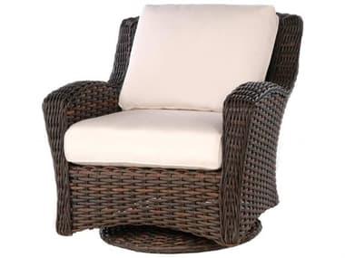 Ebel Dreux Wicker Swivel Glider Lounge Chair EBL736