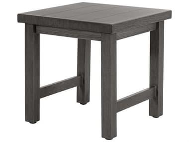 Ebel Trevi Aluminum 20'' Wide Square Plank Top Coffee Table EBL959