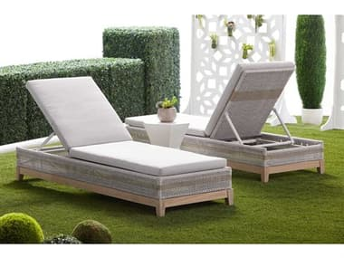 Essentials for Living Outdoor Woven Cushion Lounge Set EFL6845WTAPUMGTSET