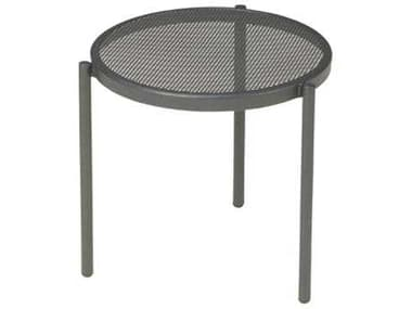EMU Disco Low Steel 16.5 Round Stacking Table EM100