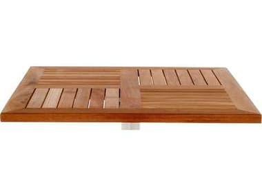 EMU Tom Teak Natural 30''W x 24''D Rectangular Table Top EM1454