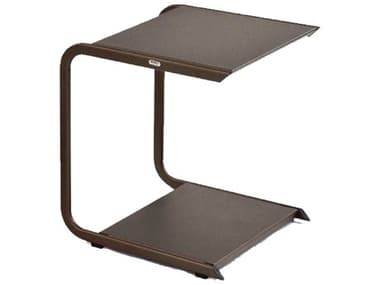 EMU Holly Aluminum 18''W x 17.5''D Rectangular Side Table EM196H