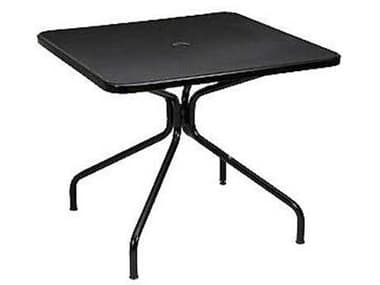 EMU Cambi Steel 36 Square Dining Table with Umbrella Hole EM802