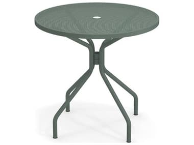 EMU Cambi Steel 32 Round Dining Table EM803