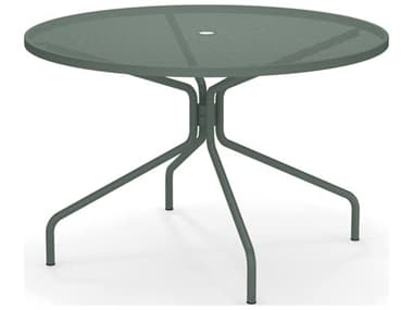 EMU Cambi Steel 48 Round Dining Table EM805