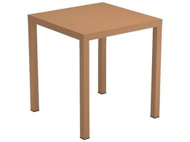 EMU Nova 27 Wide Steel Square Dining Table EM858