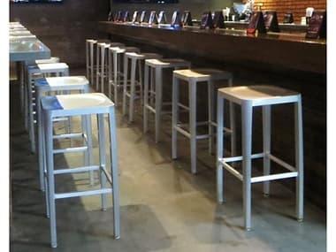 EMU Anna Aluminum Bar Stool Set EMANNABARSET