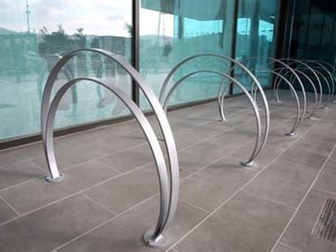 EMU Omega Steel Glossy Silver Bike Rack Set EMOMEGABKERCKSET1