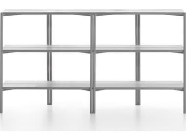 Emeco Outdoor Run By Sam Hecht And Kim Colin Aluminum Clear Anodized Shelf  EMORSSALU