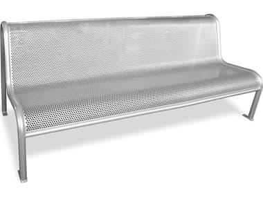 EMU Valles Steel Glossy Silver Bench EMU340M