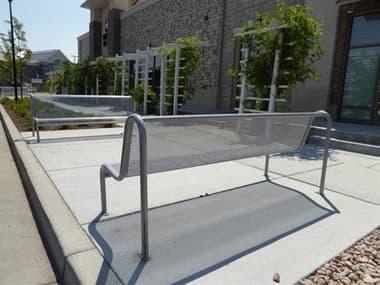 EMU Valles Steel Glossy Silver Bench Set EMVLLESBNCHSET1