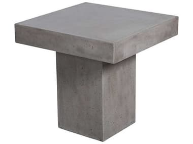 Elk Outdoor Millfield Polished Concrete 24'' Wide Square End Table EO157052