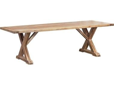 Elk Outdoor The Grove Euro Teak Oil 96'' Wide Rectangular Dining Table EO6118501
