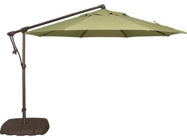 Treasure Garden NonStock Sunbrella Cantilever AG19 Aluminum 10' Octagon Tilt & Lock Offset Umbrella EXAG19NONSTOCK