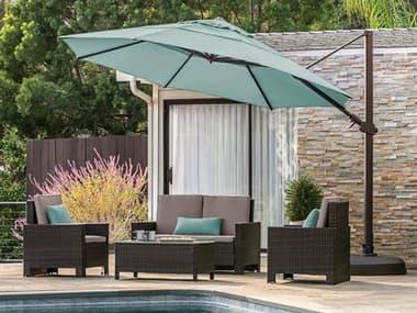 Treasure Garden 11' AG25TR Octagon Cantilever Umbrella EXAG25TR