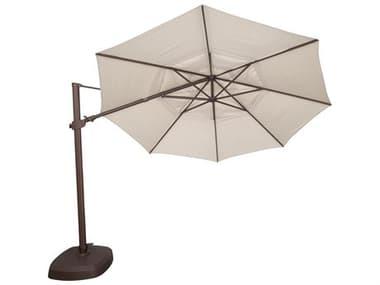 Treasure Garden NonStock Sunbrella 11' AG25TR Octagon Cantilever Umbrella EXAG25TRNONSTOCK