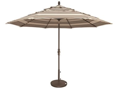 Treasure Garden NonStock Sunbrella Market Aluminum 11' Octagon Collar Tilt Crank Lift Umbrella EXUM801NONSTOCK