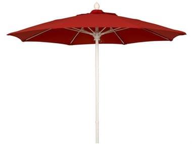 Fiberbuilt Umbrellas Market 7.5' Push Button No Tilt Patio Umbrella FB7MPU