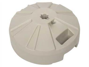 Fiberbuilt Plastic Beige 16'' 50 Pound Fillable Umbrella Base FBPB16B