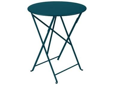 Fermob Bistro 24'' Wide Steel Round Table FER0245