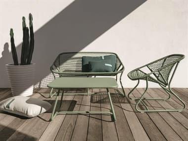 Fermob Sixties Aluminum Resin Lounge Set FER1705SET