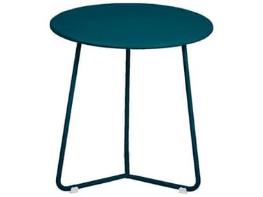 Fermob Cocotte 13'' Wide Steel Round End Table FER4703