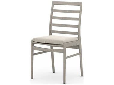 Four Hands Outdoor Solano Teak Cushion Dining Chair FHOJSOL09001K