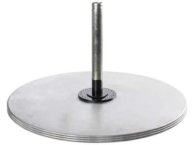 Frankford Monaco Galvanized Steel 40'' Wide Round Stackable Plate FU40G