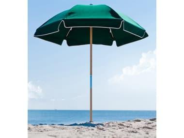 Frankford Avalon Fiberglass Beach 6.5 Foot Wide Hexagon Manual Lift Umbrella FU639FWB