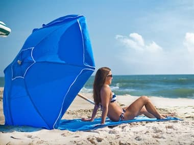 Frankford Shade Star Ash Wood 6.5' Foot Hexagon Beach Umbrella FU639SS