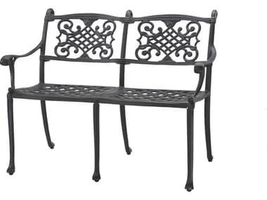Gensun Michigan Cast Aluminum Cushion Bench - Knock Down GES10140002