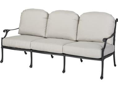 Gensun Michigan Cast Aluminum Cushion Sofa - Knock Down GES10140023