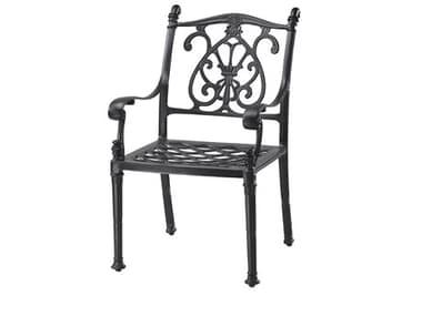 Gensun Florence Cast Aluminum Cushion Dining Arm Chair GES10230001