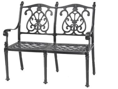 Gensun Florence Cast Aluminum Cushion Bench GES10230002