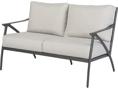 Gensun Amari Cushion Aluminum Carbon Loveseat GES10250022