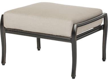 Gensun Edge & Wave Ottoman Aluminum Cushion GES1026000G