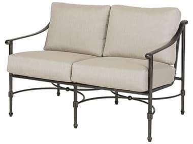 Gensun Morro Bay Ii Cast Aluminum Cushion Loveseat GES1032PB22