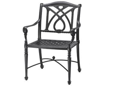 Gensun Grand Terrace Cast Aluminum Cushion Dining Chair GES10340001