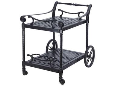 Gensun Grand Terrace Accessories Cast Aluminum Serving Cart - Welded GES1034WD0X