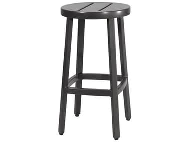Gensun Plank Aluminum Metal Bar Stool GES10460047