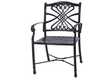 Gensun Bella Vista Cast Aluminum Dining Arm Chair GES10510001