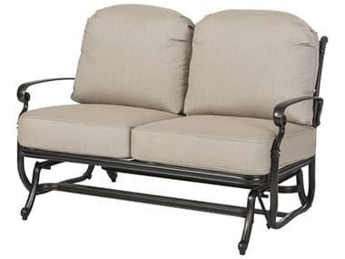 Gensun Bella Vista Cast Aluminum Cushion Glider Loveseat GES10510004