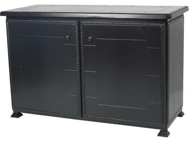 Gensun Paradise Storage Aluminum 56''W x 24''D Rectangular Storage Console Table GES1068SC01