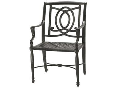 Gensun Bel Air Cast Aluminum Dining Arm Chair GES10990001