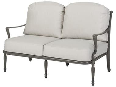 Gensun Bel Air Cushion Cast Aluminum Loveseat GES10990022