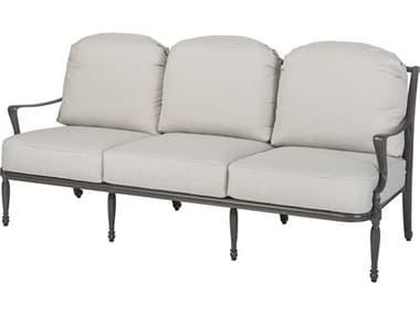 Gensun Bel Air Cushion Cast Aluminum Sofa GES10990023