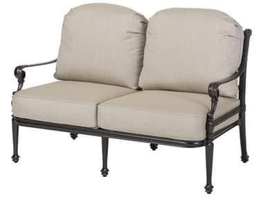 Gensun Grand Terrace Cast Aluminum Cushion Loveseat GES11340022